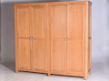 Quad Oak Wardrobe