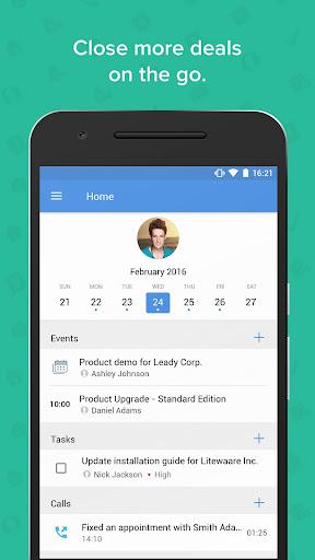 Zoho CRM - Sales & Marketing 3.3.45 screenshots 1