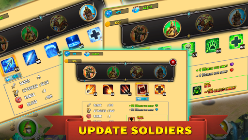 StickMan Defense War - Empire Hero & Tower Defense apktram screenshots 7