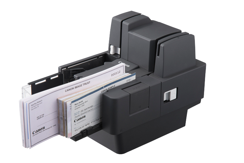 MICR check scanner