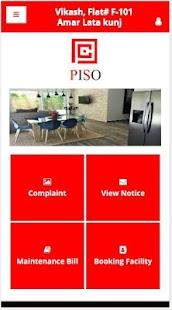 PISO User App - náhled
