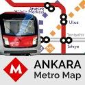 Ankara Metro Map Offline icon
