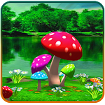 3D Mushroom Live Wallpaper New Icon