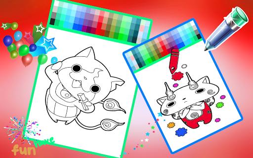 Yokai Coloring Book