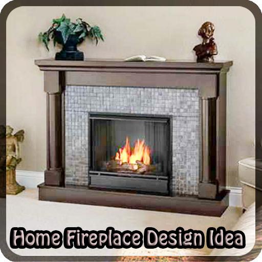 Home Fireplace Design Idea