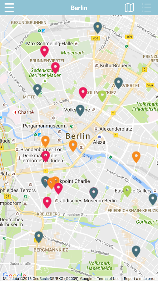 Startup Guide Maps- screenshot