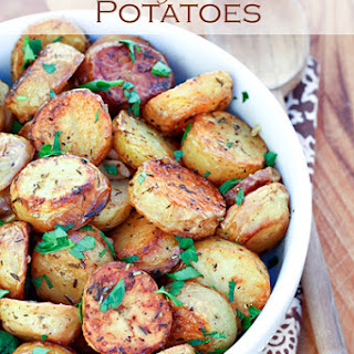 Melt in Your Mouth Potatoes.