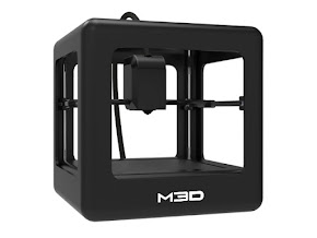 M3D Micro 3D Printer with Free Spool and Warranty Black