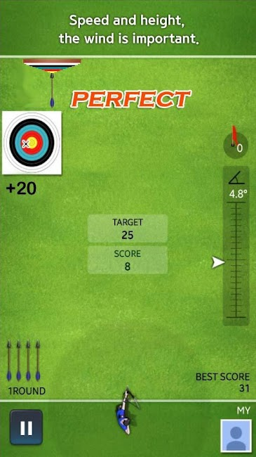 #2. Archery Ace (Android)