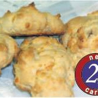 Low Carb Cheddar Cheese Biscuits Recipe with CarbQuik Recipe
