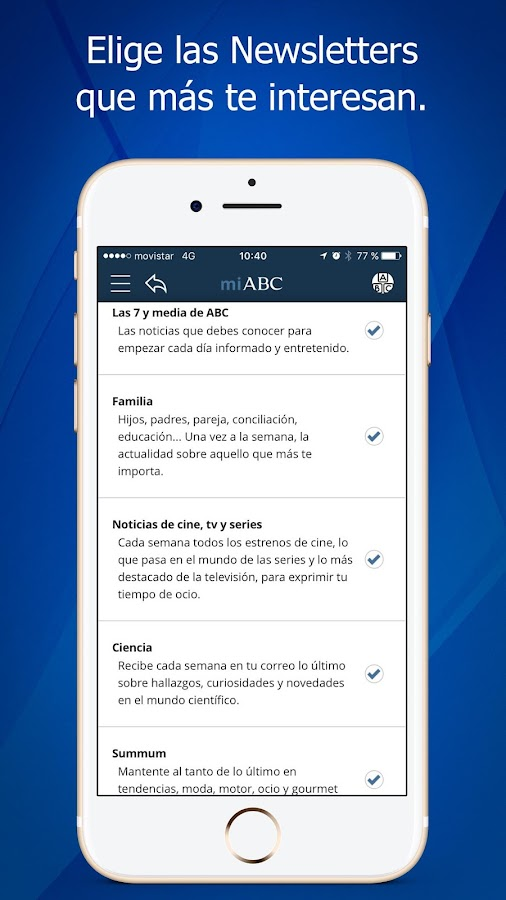 Diario ABC: noticias online.: captura de pantalla