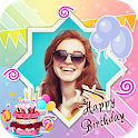 Birthday Wishes - Cards, Frame, GIF, Sticker, Song icon