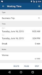 timr -Time and Mileage Tracker- screenshot thumbnail