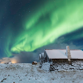 Winter in Iceland by Sigurður Brynjarsson - Landscapes Starscapes
