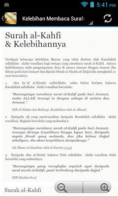 Surah Kahfi Ayat Pelindung - screenshot