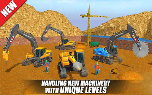 Heavy Excavator Crane: Construction City Truck 3D painmod.com screenshots 9