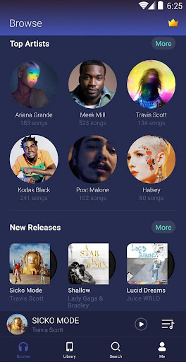 GO Music Player - Mp3 Player, Themes, Equalizer screenshot