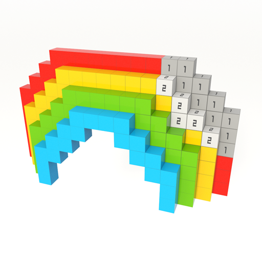 Voxel - 3D Coloring by Numbers
