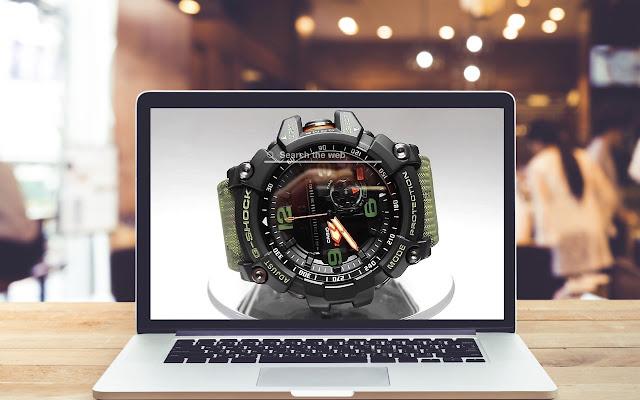 Casio G-Shock HD Wallpapers New Tab Theme