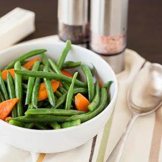 Buttered Green Beans & Carrots