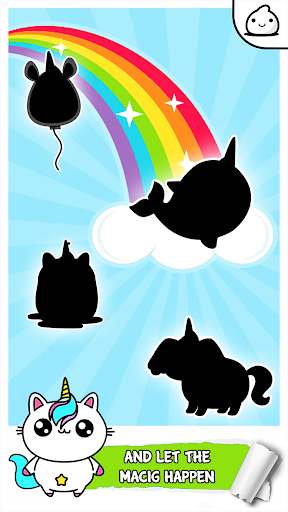 Unicorn Evolution - Idle Cute Clicker Game Kawaii screenshot