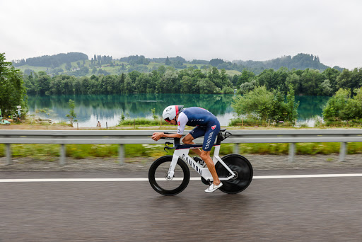 It's all about the bike: photos from the bike course at the Zwift Tri Battle Royale