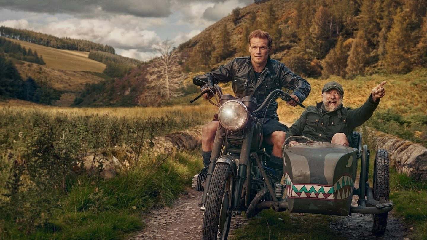 Watch Men in Kilts: A Roadtrip With Sam and Graham live*