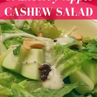 Cranberry-Apple Cashew Salad.