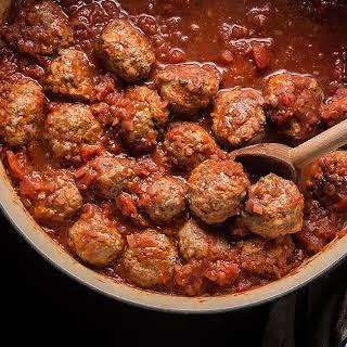 Classic Italian Meatballs.