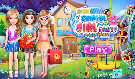 High School Girls Party- screenshot thumbnail