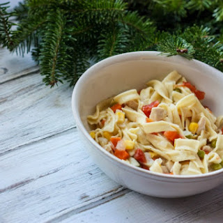 Easy and Quick Chicken Noodle Soup.