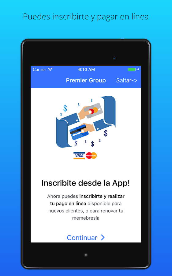 Premier Group- screenshot