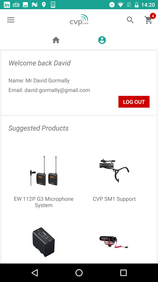 CVP.com- screenshot