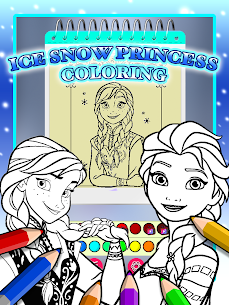 Ice Princess Coloring Pages 1