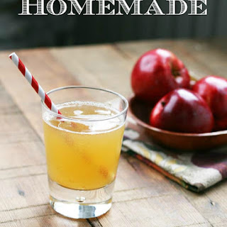 Homemade Apple Soda.
