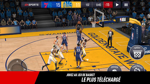 NBA LIVE Mobile Basket-ball  captures d'écran 1