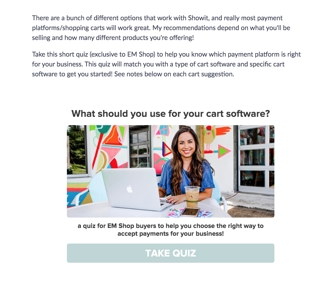 ecommerce cart recommendation quiz cover