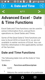Guide Advanced Excel Functions- screenshot thumbnail
