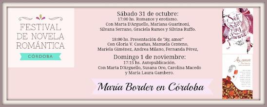 Photo: Estoy feliz de participar del Festival de la Novela Romántica en Córdoba