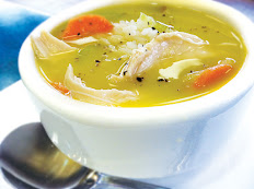 Chicken Noodle Soup~ Sopa de Pollo