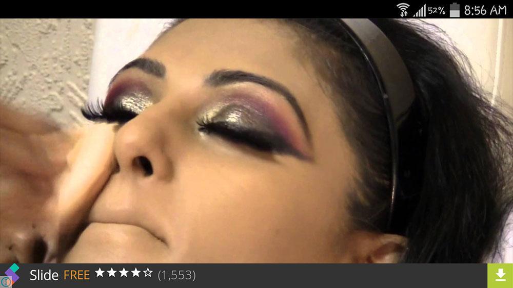 Bridal Makeup Videos Screenshot