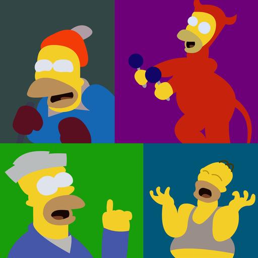 Adivina la frase Homero for PC