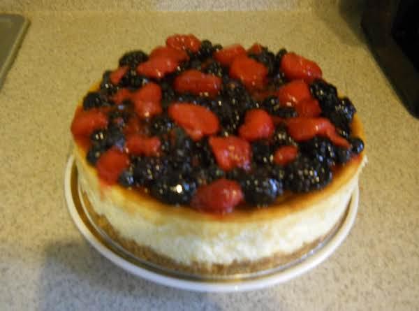 Mixed Berry Cheesecake Recipe