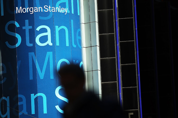 Morgan Stanley's New York headquarters in the US. Picture: SPENCER PLATT/AFP/GETTY IMAGES