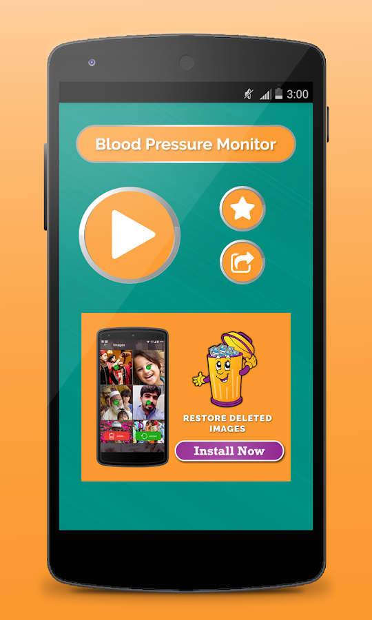 Finger Blood Pressure- screenshot