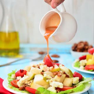 Pear Pecan Feta Salad