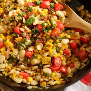 Southern Summer Succotash.