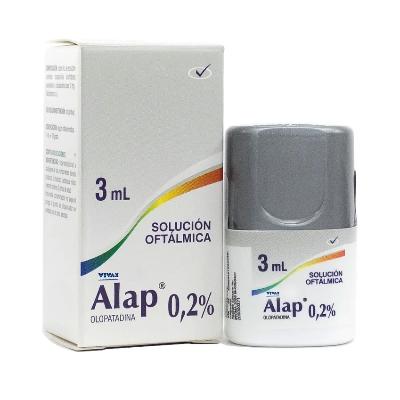 Olopatadina Alap 0.2% Solucion Oftalmica 3mL