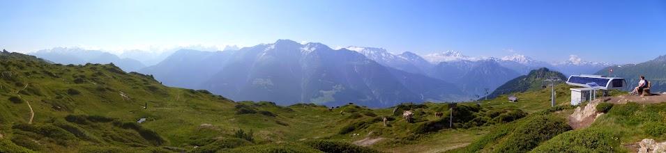Photo: Start of the trek near Hohfluh