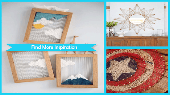 Awesome DIY String Art Projects - náhled